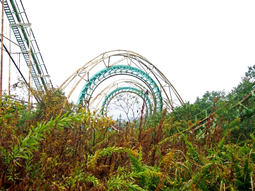 Nara Dreamland Japan abandoned